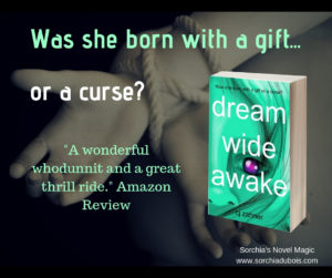 Paranormal Thriller Dream Wide Awake by CJ Zahner. SorchiaDubois.com