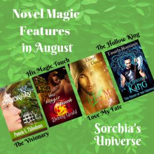 August Novel Magic www.sorchiaDuBois.com