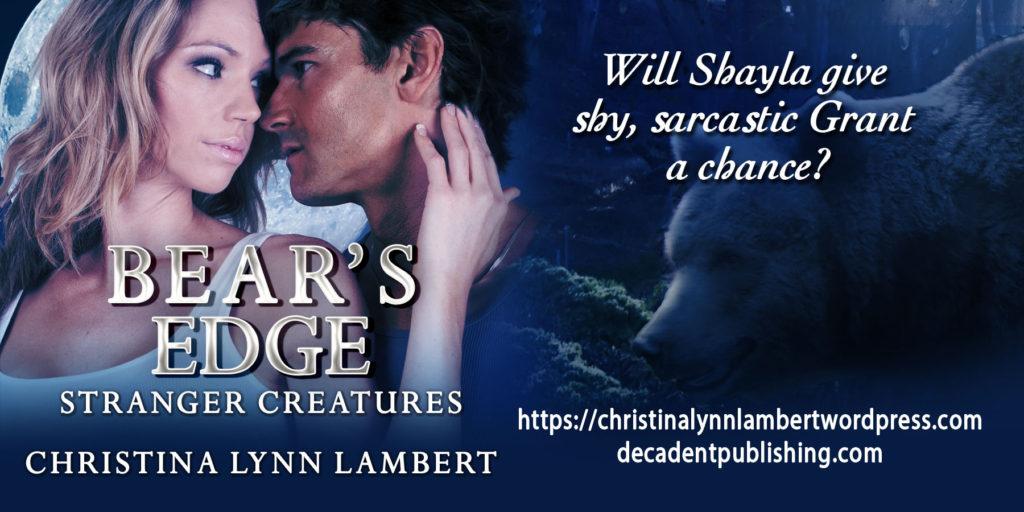Bear's Edge by Christina Lambert  www.sorchiadubois.com