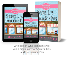 Secrets, Lies, and Homemade Pies by Emma Ames www.sorchiadubois.com Pies